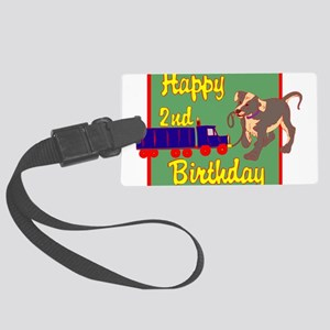 2nd-Birthday-03-[Converted] Large Luggage Tag